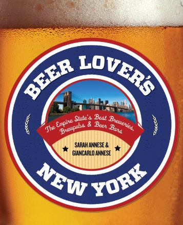 Beer Lover's New York, cover image copy